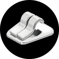 2D Mini лингвальный брекет особенно миниатюрного размера для использования в случаях сильной скученности